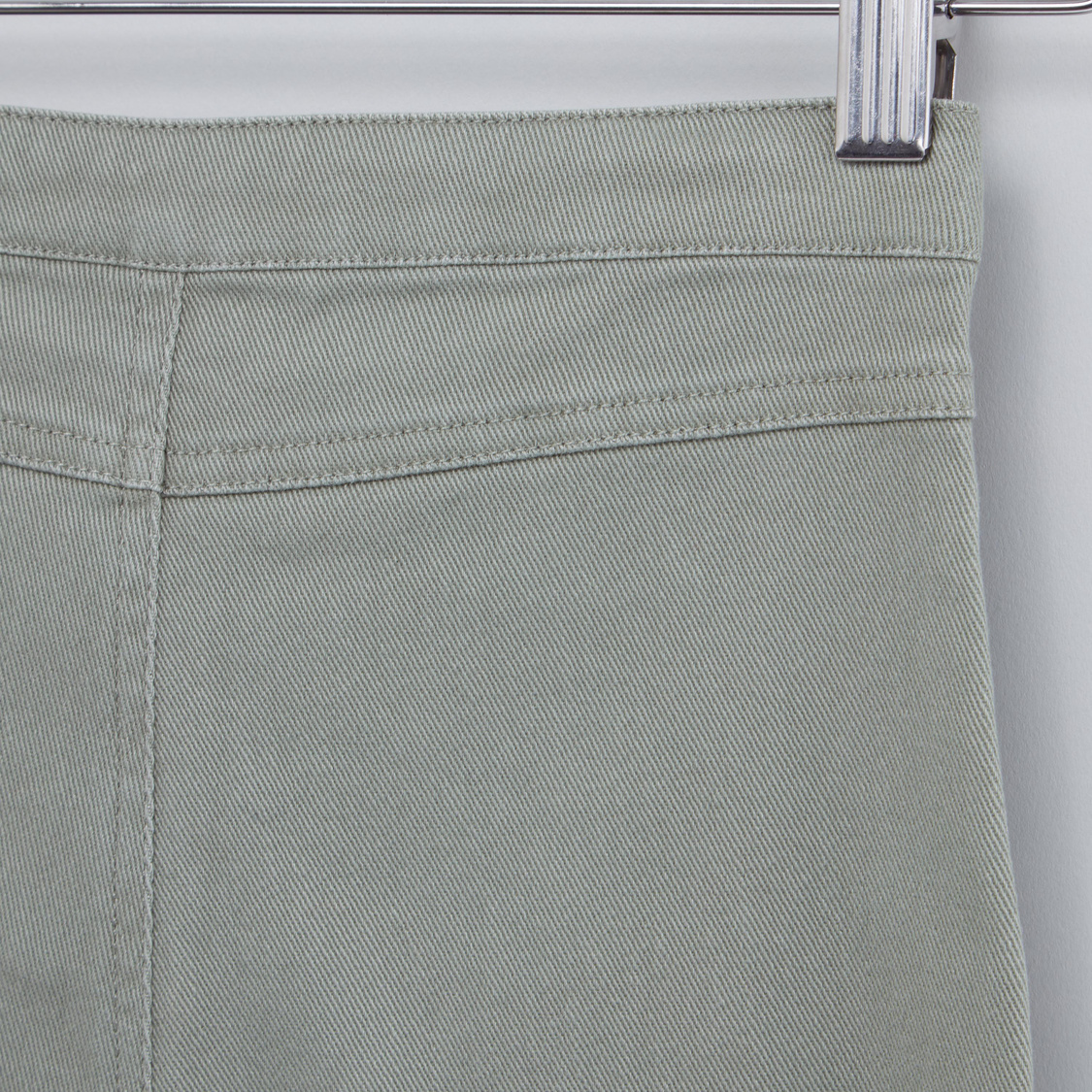 Schiffli Detail Culottes with Tie Up Waist