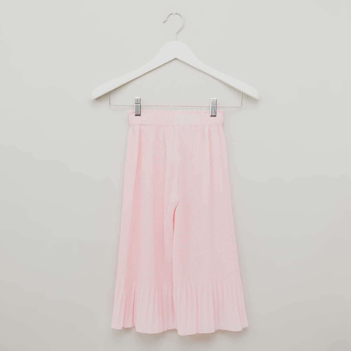 Pleated Culotte with Elasticised Waistband