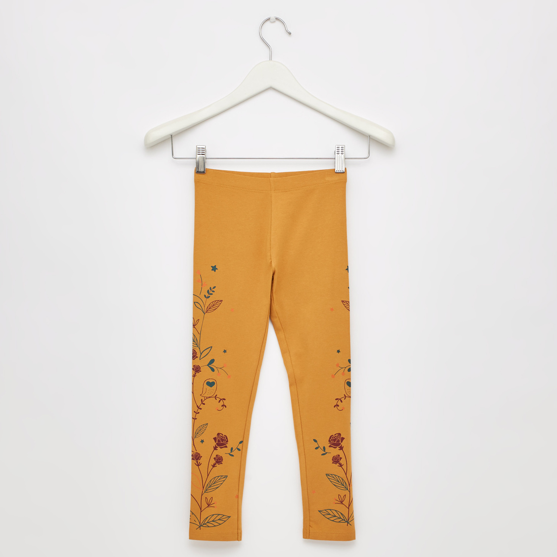 Printed Full Length Legging with Elasticated Waistband