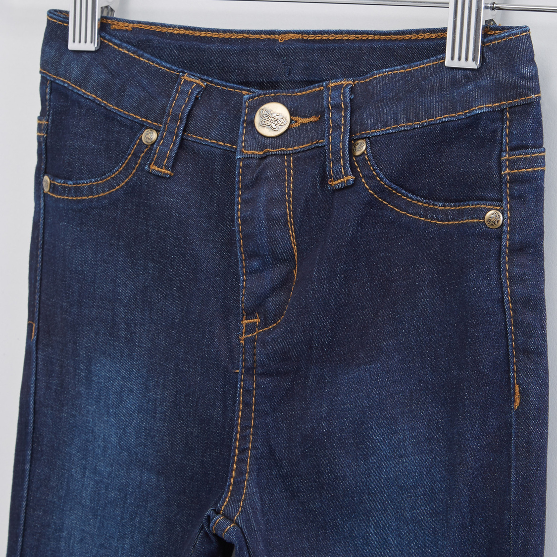 Full Length Jeans with Four Pockets