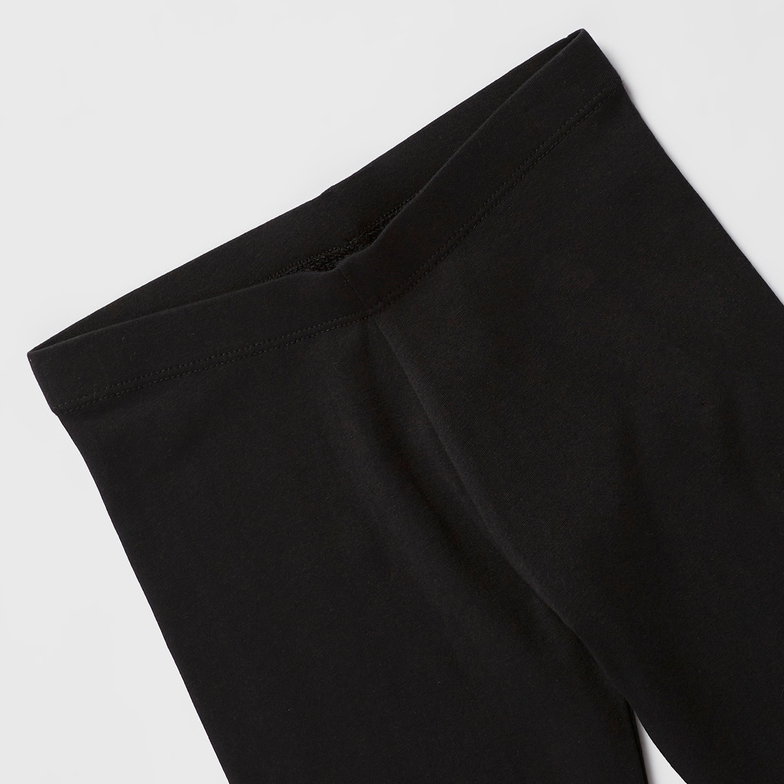Solid Full Length Anti-Pilling Leggings with Lace Detail