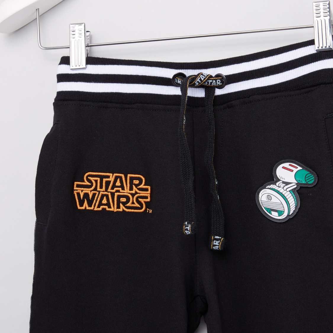 Star Wars Printed Jog Pants with Pocket Detail and Drawstring