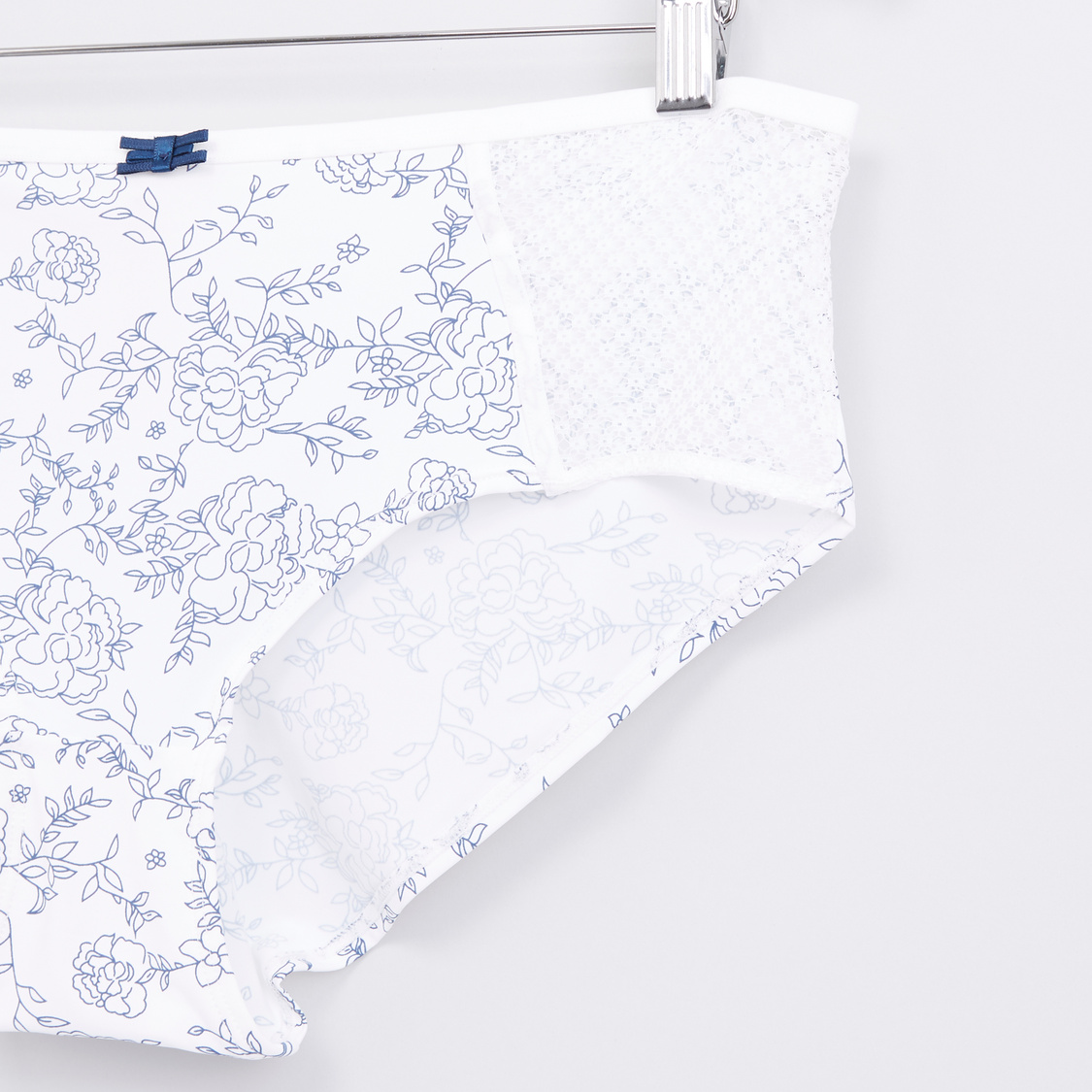 Floral Printed Hipster Briefs