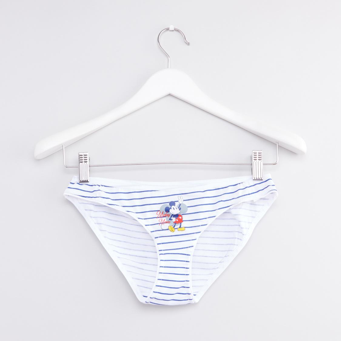 Set of 3 - Mickey Mouse Printed Bikini Briefs