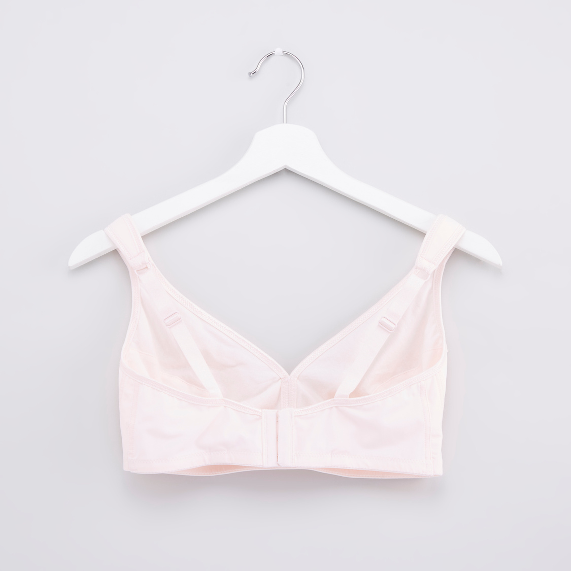 Non Padded Bra with Lace Trim and Bow