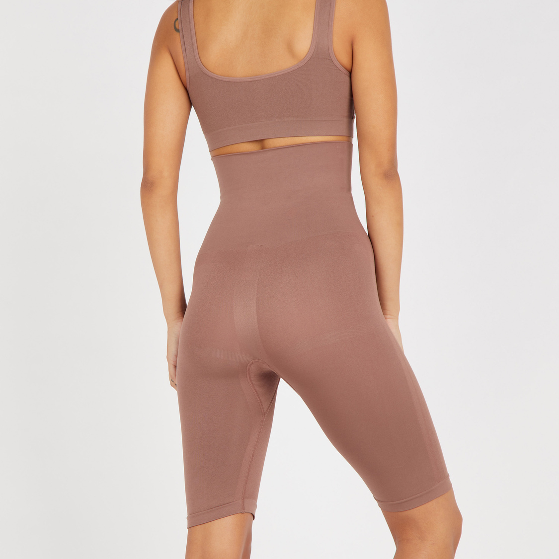 Textured Leg Shapers with Elasticated Waistband
