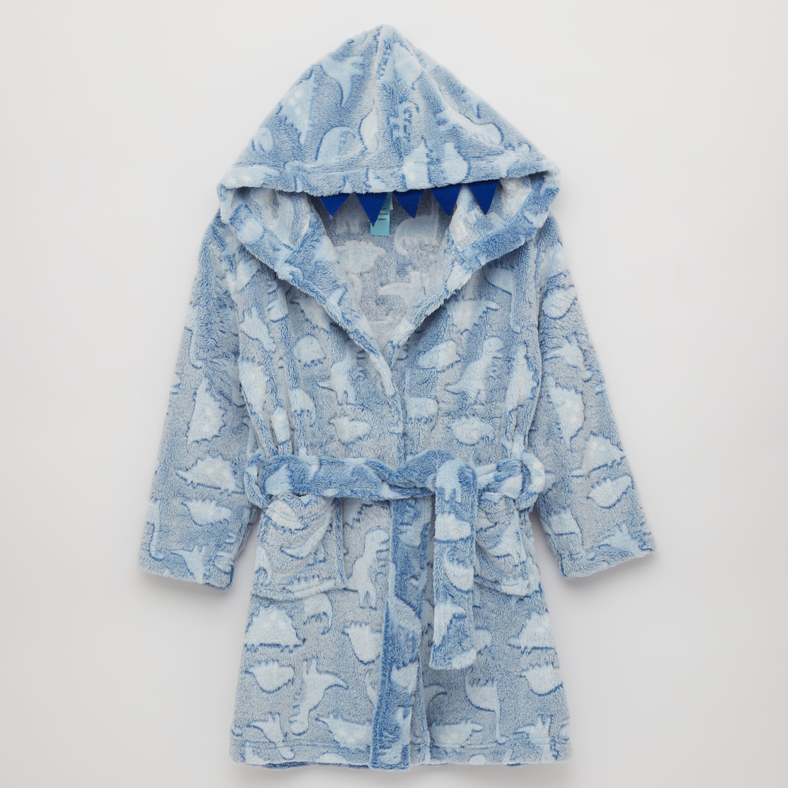 Cozy Collection Textured Robe with Tie Ups and Hood