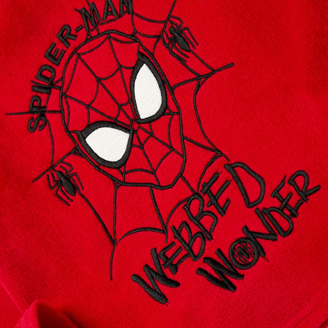 Spider-Man Print T-shirt and Full Length Pyjama Set
