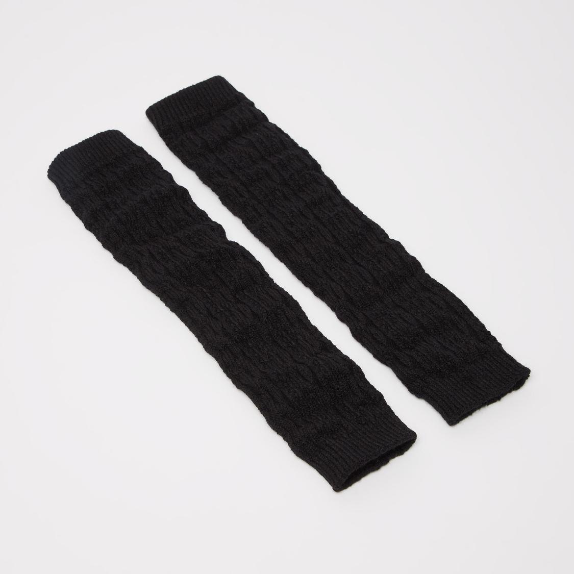 Textured Leg Warmers