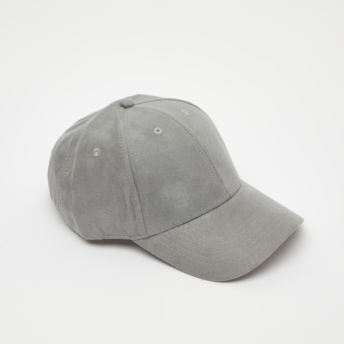 Solid Cap with Stitch Detailing