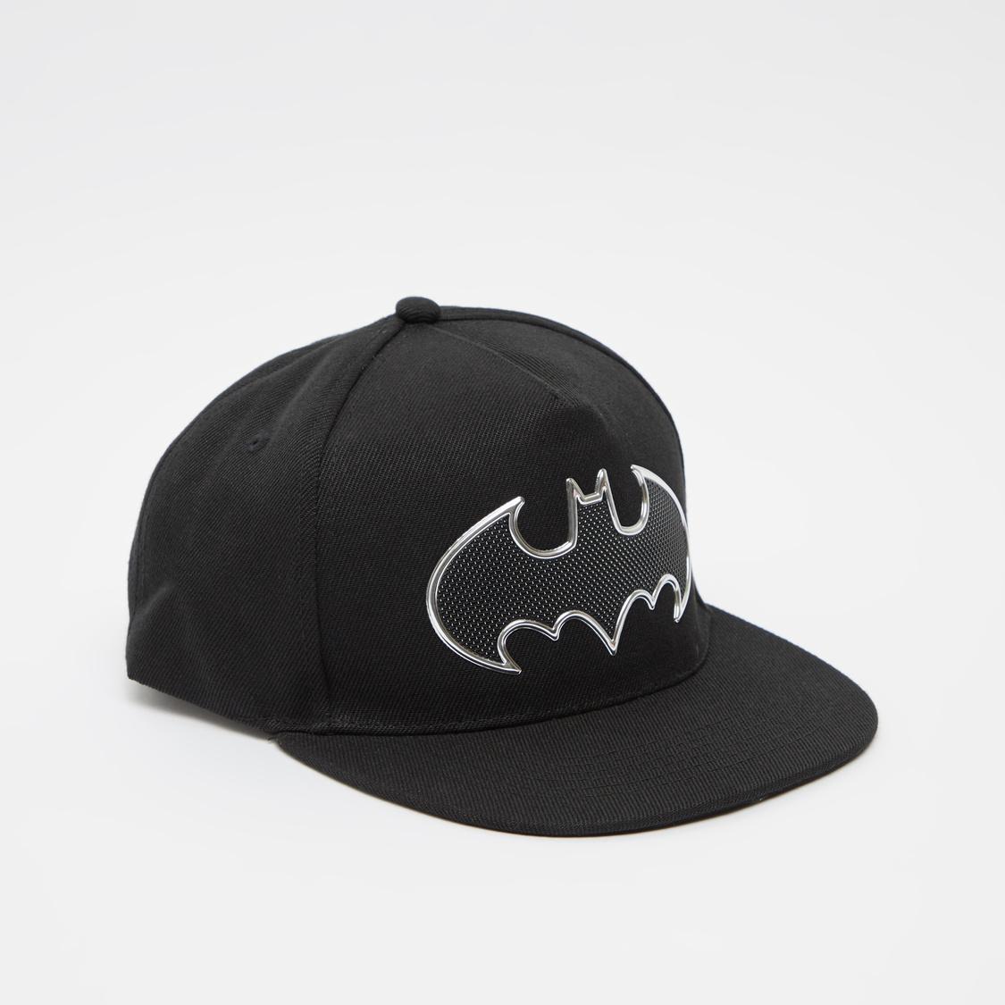 Batman Logo Embossed Print Cap