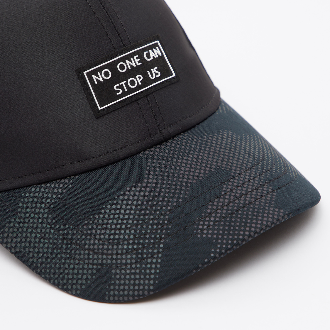 Text Embroidered Baseball Cap