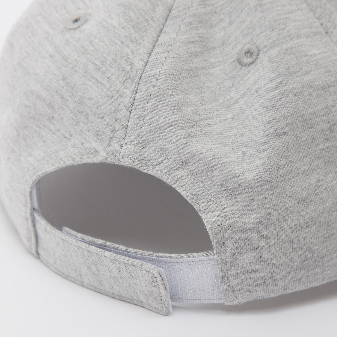 Reversible Sequin Detail Cap with Hook and Loop Closure