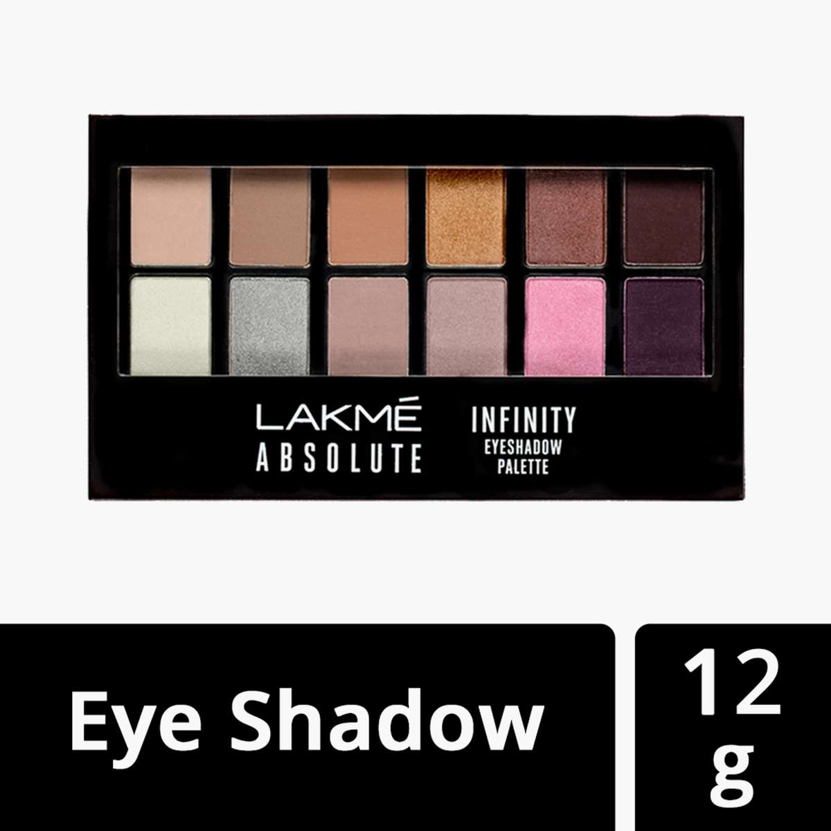 Lakme Absoulte Infinity Eyeshadow Palette 12g