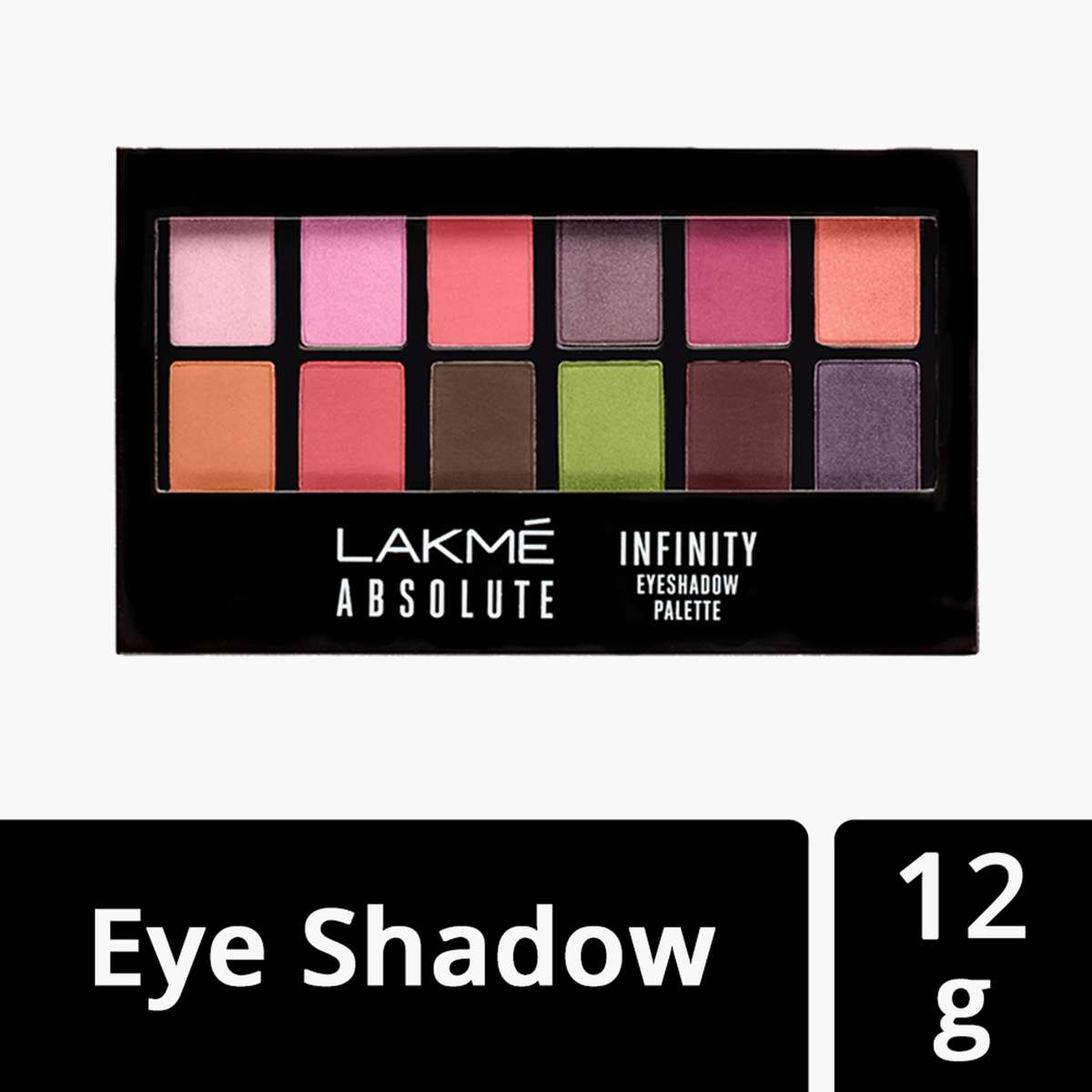 Lakme Absoulte Infinity Eyeshadow palette -12 g