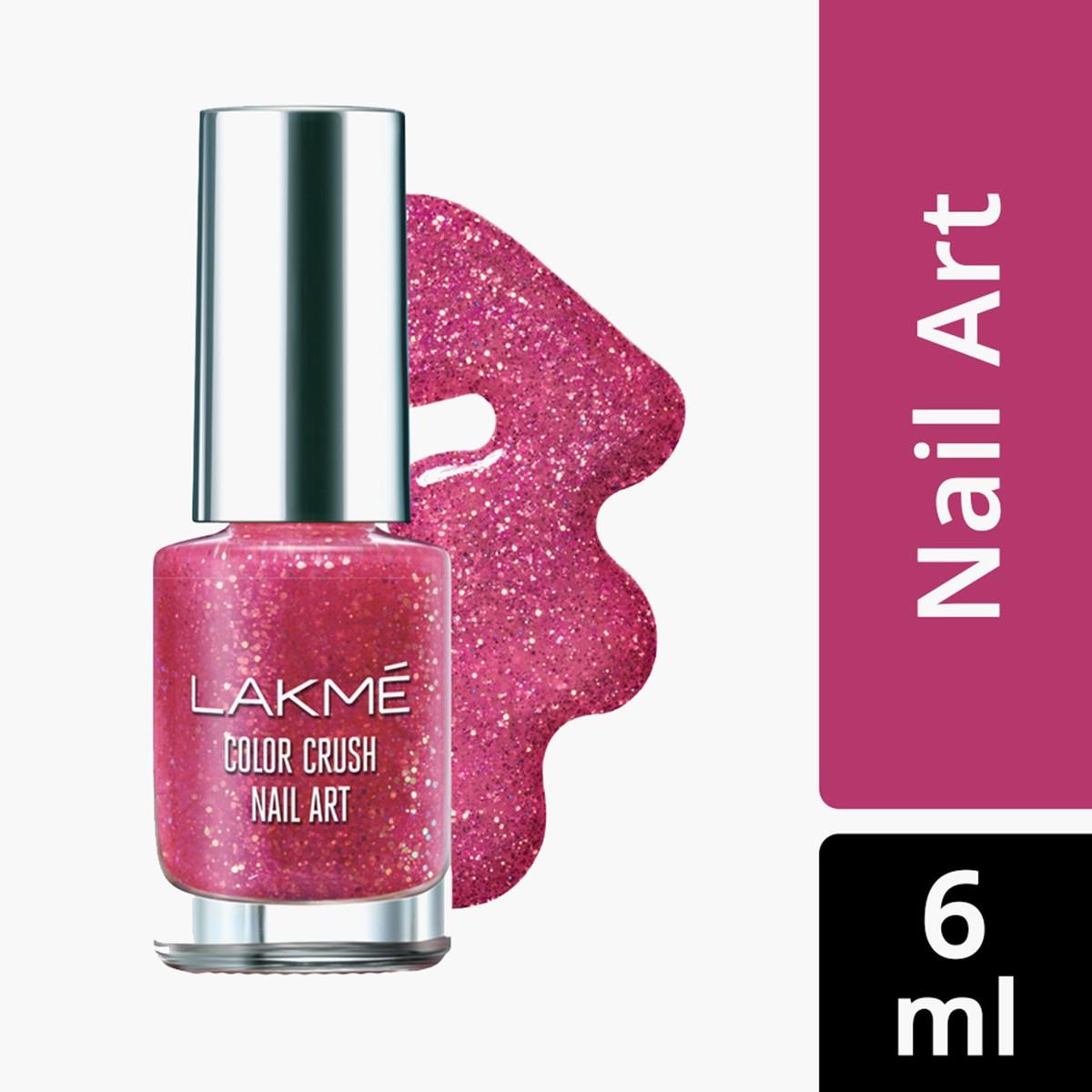 Lakme Color Crush Nail Art - 6ml