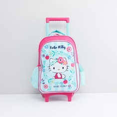 Hello Kitty Trolley Backpack with Retractable Handle