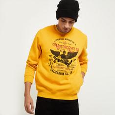 MAX Graphic Print Full Sleeves Sweatshirt