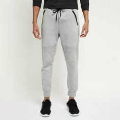 MAX Textured Joggers with Knee Darts