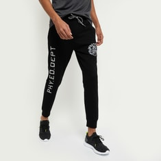 MAX Typographic Print Joggers with Insert Pockets