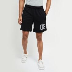 MAX Numerical Printed Shorts