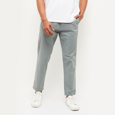MAX Solid Carrot Fit Chinos