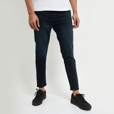 MAX Dark Washed Carrot Fit Jeans