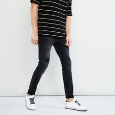 MAX Distressed Slim Fit Jeans