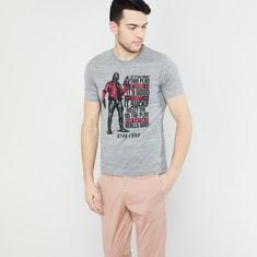 MAX Avengers Starlord Print Crew-Neck T-shirt