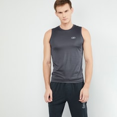 MAX Heathered Sleeveless Activewear T-shirt