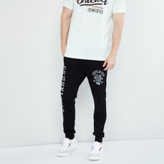 MAX Printed Joggers with Pockets