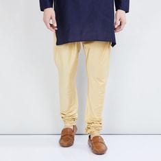 MAX Solid Drawstring Waist Churidar