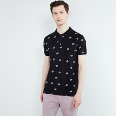 MAX Printed Polo T-shirt