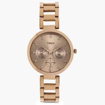 TIMEX Multifunction Round Dial Watch- TW000X209