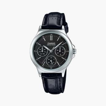 CASIO Women Multifunctional Leather Strap Analog Watch - LTP-V300L-1AUDF