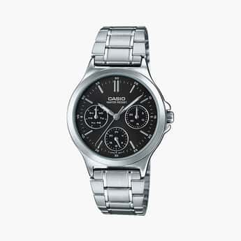 CASIO Women Water-Resistant Chronograph Analog Watch - LTP-V300D-1AUDF
