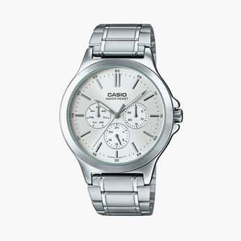 CASIO Men Chronograph Bracelet Style Strap Analog Watch - MTP-V300D-7AUDF