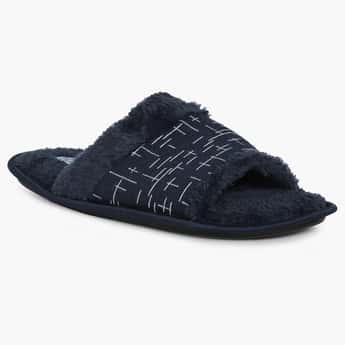 FORCA Patterned Fleece Slippers