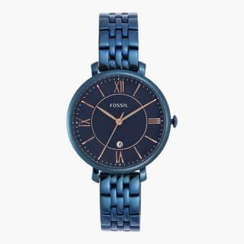 FOSSIL Women Round Analog Metal Wristwatch