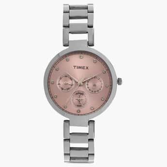 TIMEX Multifunction Round Dial Watch- TW000X212