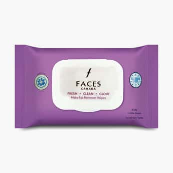 FACES CANADA Fresh Clean Glow Makeup Remover Wipes