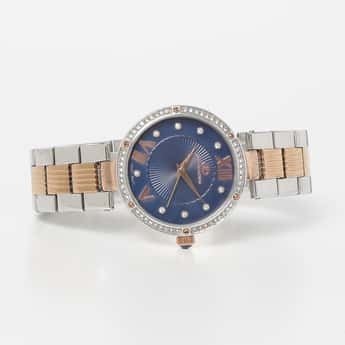 GIO COLLECTION Women Water-Resistant Embellished Analog Watch - G20232