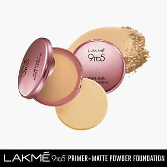 LAKME 9To5 Primer And Matte Compact
