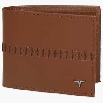 BULCHEE Embroidered Single Fold Men's Wallet