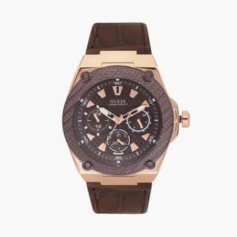 GUESS Legacy Analog Brown Dial Men's Watch - W1058G2