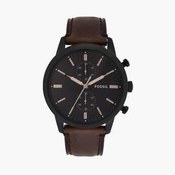 FOSSIL Townsman Men Water-Resistant Chronograph Watch - FS5437