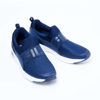 FILA Lenwood Textured Slip-On Shoes
