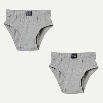 JOCKEY Solid Knitted Briefs