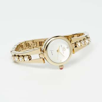 GIO COLLECTION Women Mix Metal Wristwatch-G2116-11