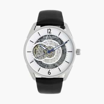 KENNETH COLE Men Automatic Watch with Leather Strap - KC50205001MN